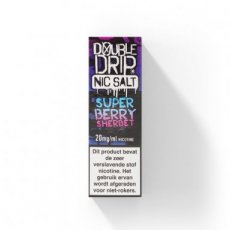 Double Drip - Super Berry Sherbet - NS/20MG