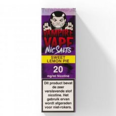 Vampire Vape - Sweet Lemon Pie - Ns/20MG